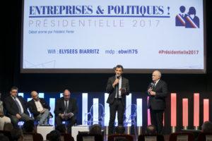 PARIS: Entreprises et Politiques, le Medef rencontre les candidats a l'election presidentielle